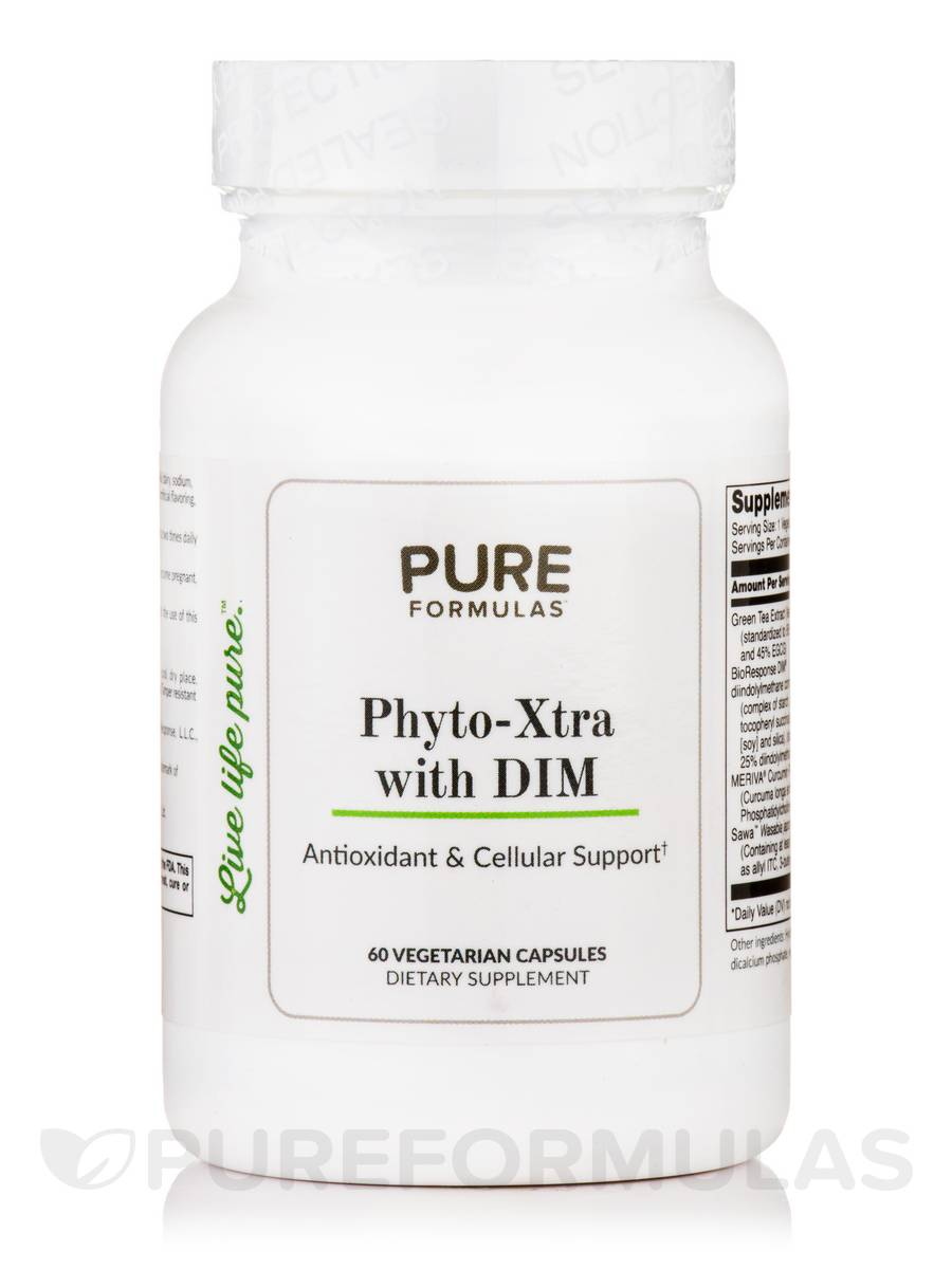 Phyto-Xtra with DIM - 60 Vegetarian Capsules