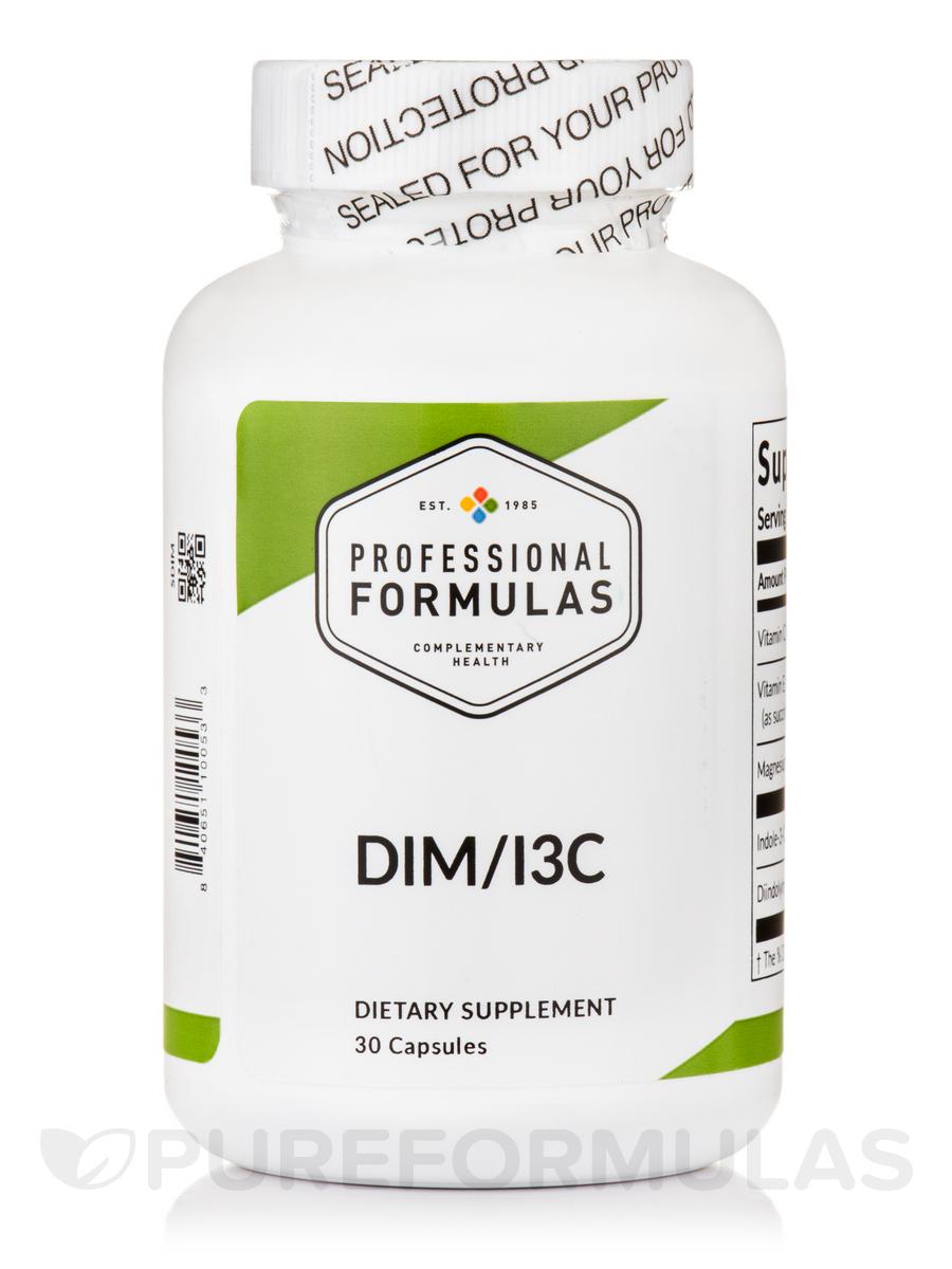 DIM/I3C Estrogen Metabolite Blocker - 30 Capsules