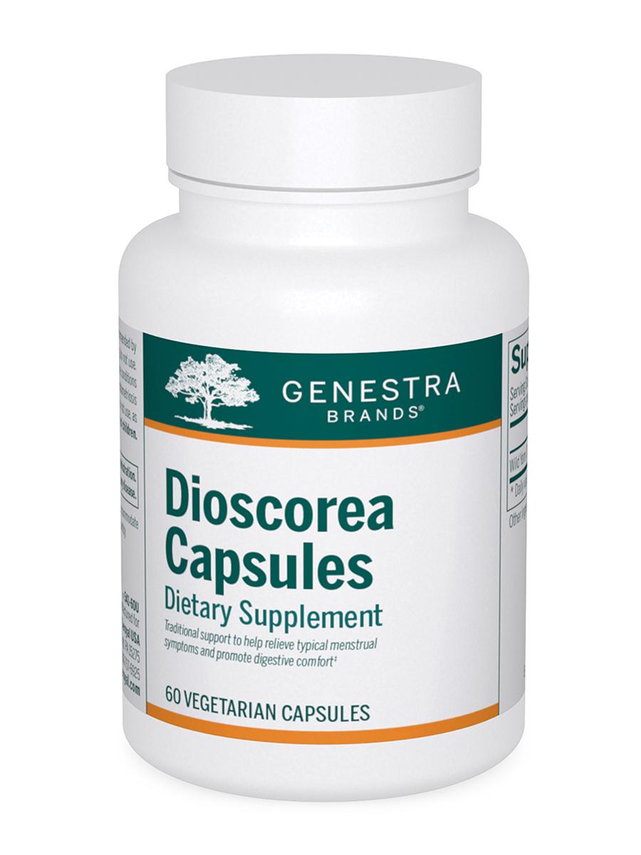 Dioscorea Capsules - 60 Vegetable Capsules