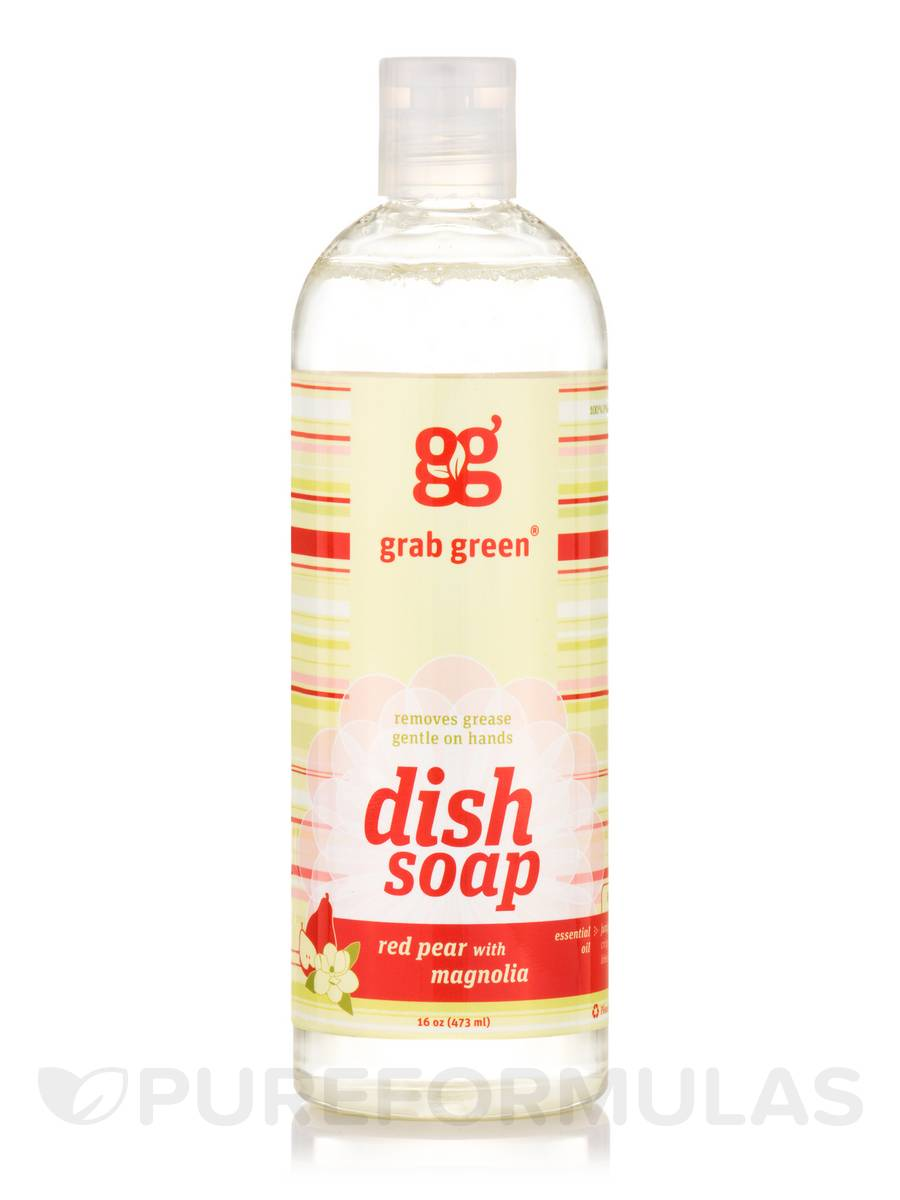 Dish Soap, Red Pear with Magnolia - 16 oz (473 ml)