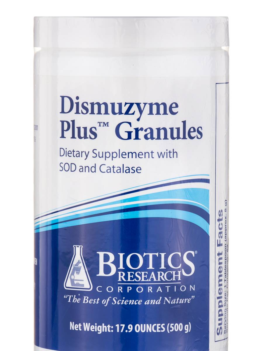Dismuzyme Plus™ Granules with SOD and Catalase - 17.9 oz (500 Grams)