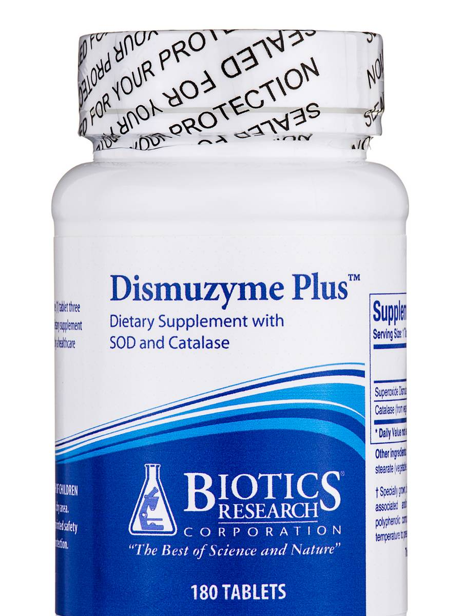 Dismuzyme Plus - 180 Tablets