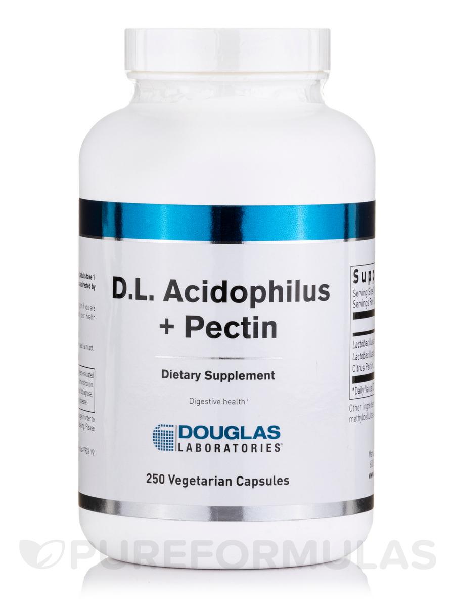 D.L. Acidophilus + Pectin - 250 Capsules