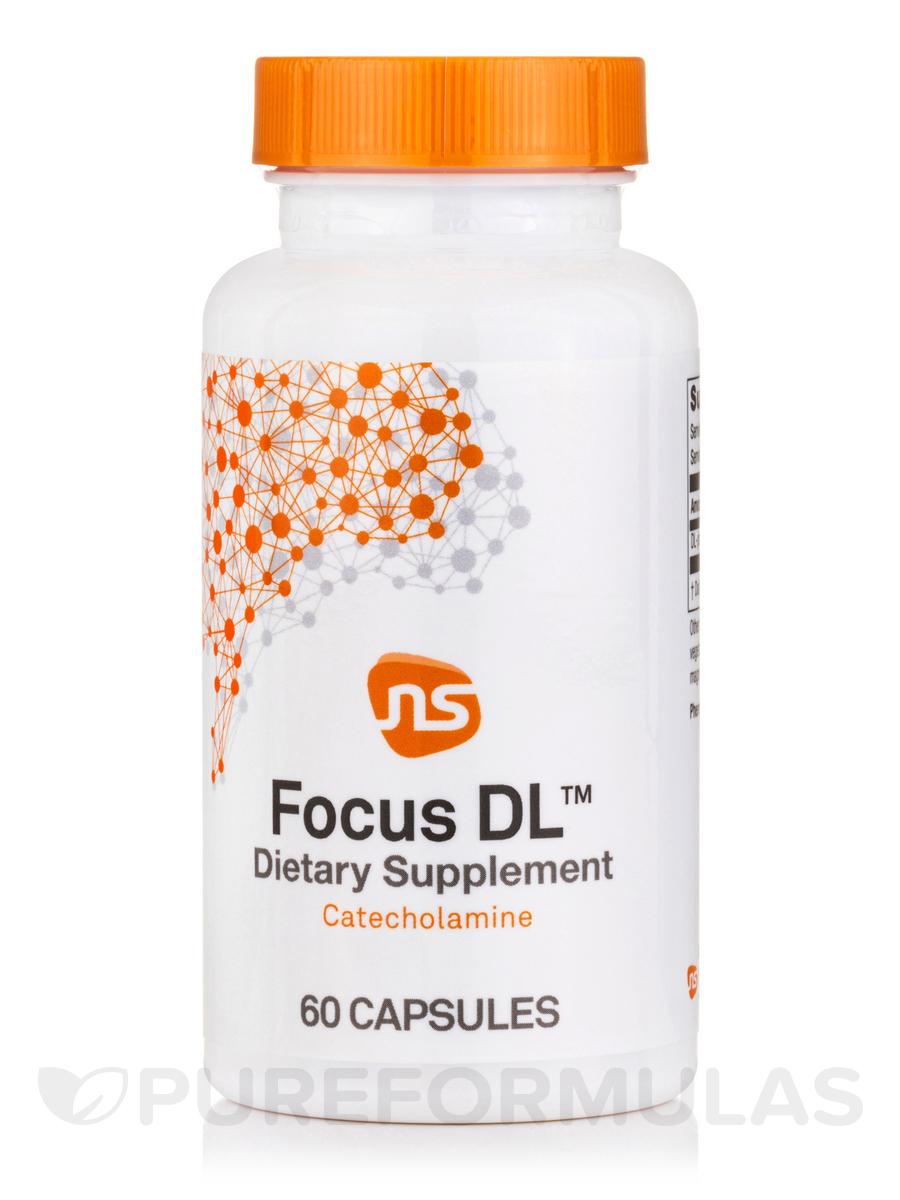 Focus DL (DL-Phenylalanine) - 60 Capsules