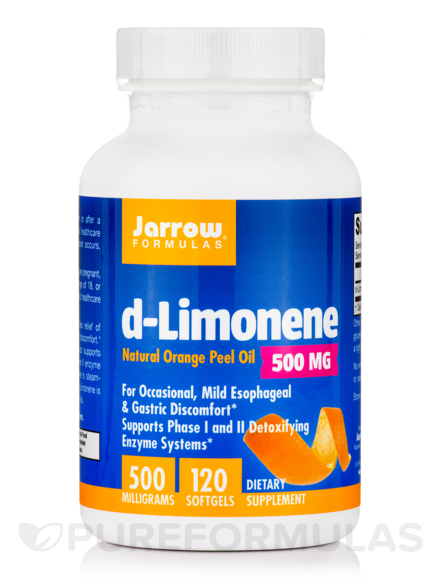 d-Limonene 1000 mg - 60 Softgels