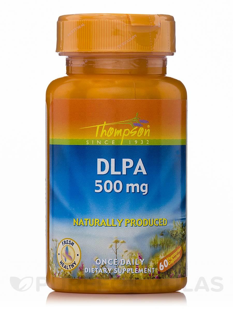 DLPA 500 mg - 60 Vegetarian Capsules