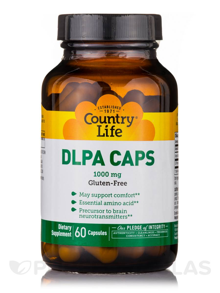 DLPA Caps 1000 mg - 60 Capsules