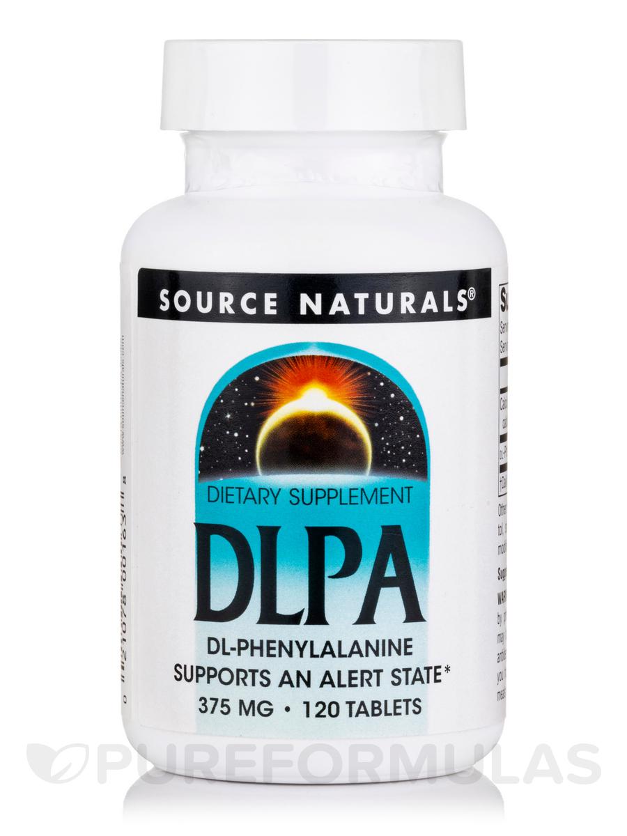 DL-Phenylalanine 375 mg - 120 Tablets