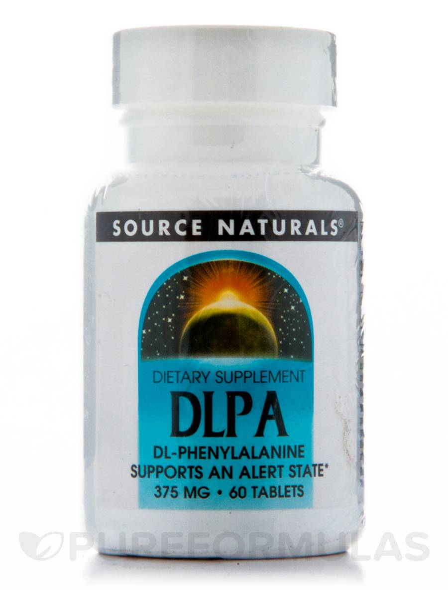 DL-Phenylalanine 375 mg - 60 Tablets