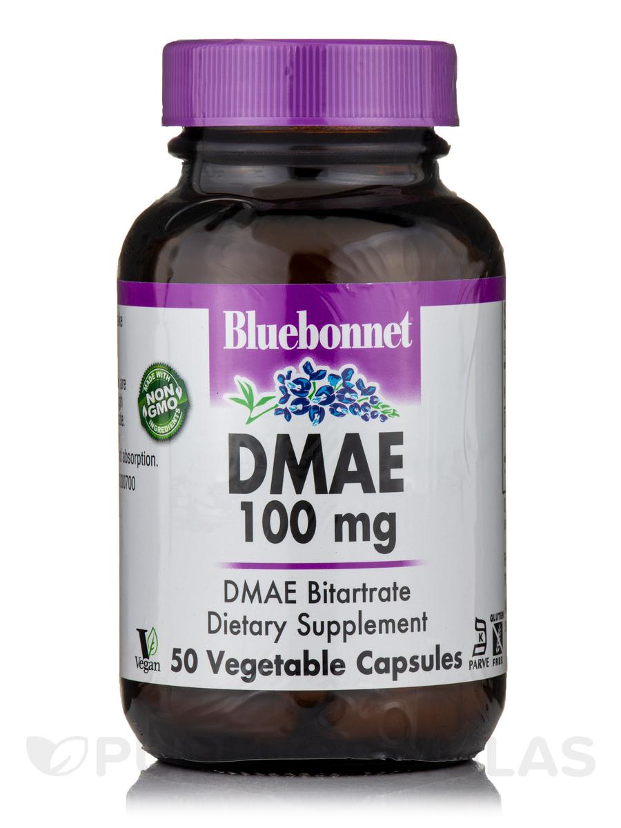 DMAE 100 mg - 50 Vegetable Capsules