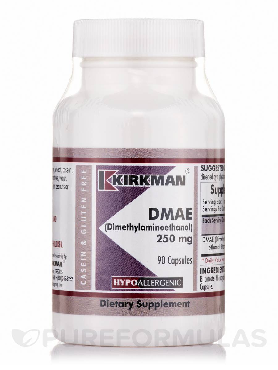 DMAE 250 mg -Hypoallergenic - 90 Capsules