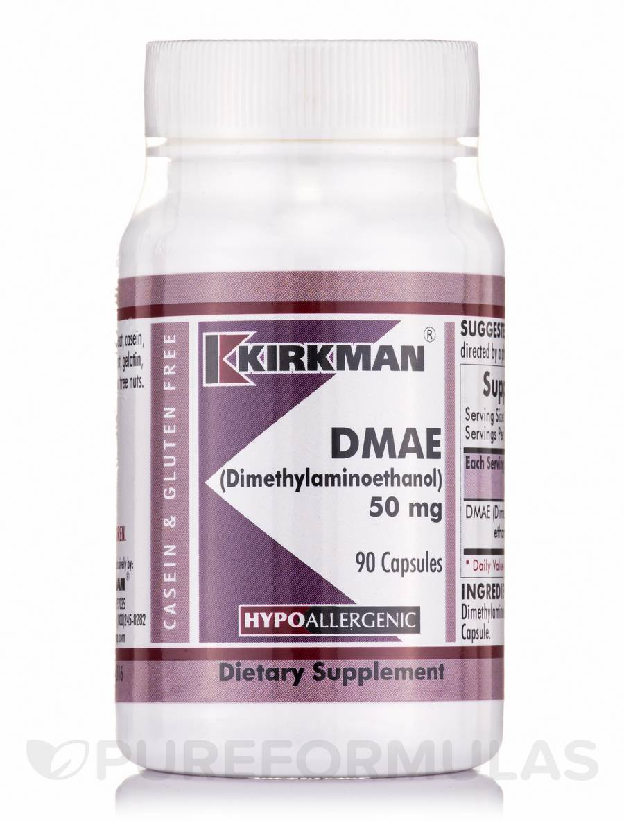 DMAE 50 mg -Hypoallergenic - 90 Capsules
