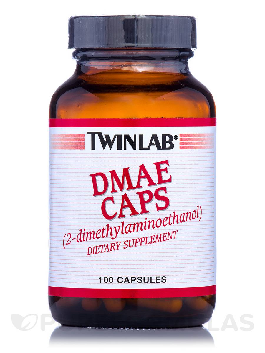DMAE Caps (2-dimethylaminoethanol) - 100 Capsules