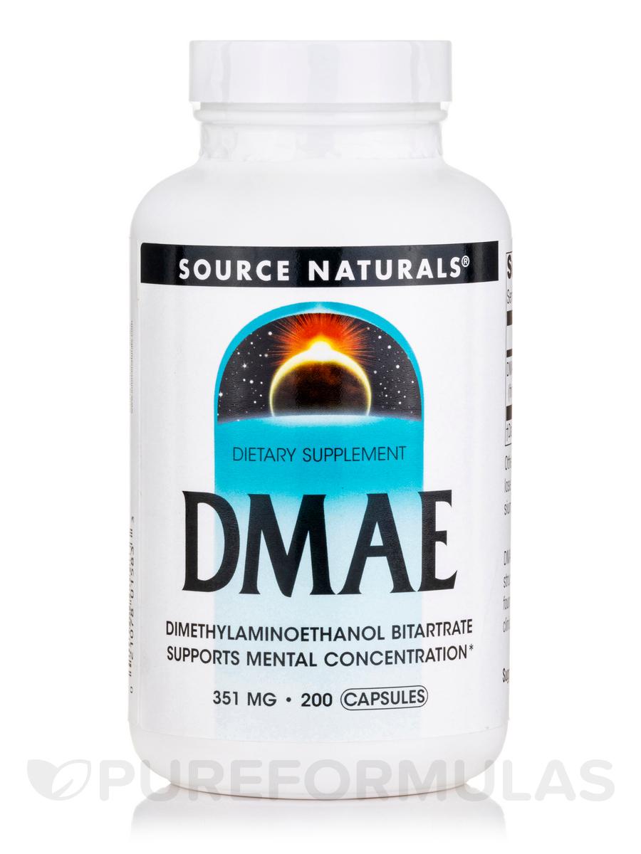 DMAE Caps 351 mg - 200 Capsules