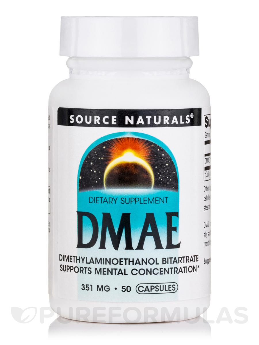 DMAE Caps 351 mg - 50 Capsules