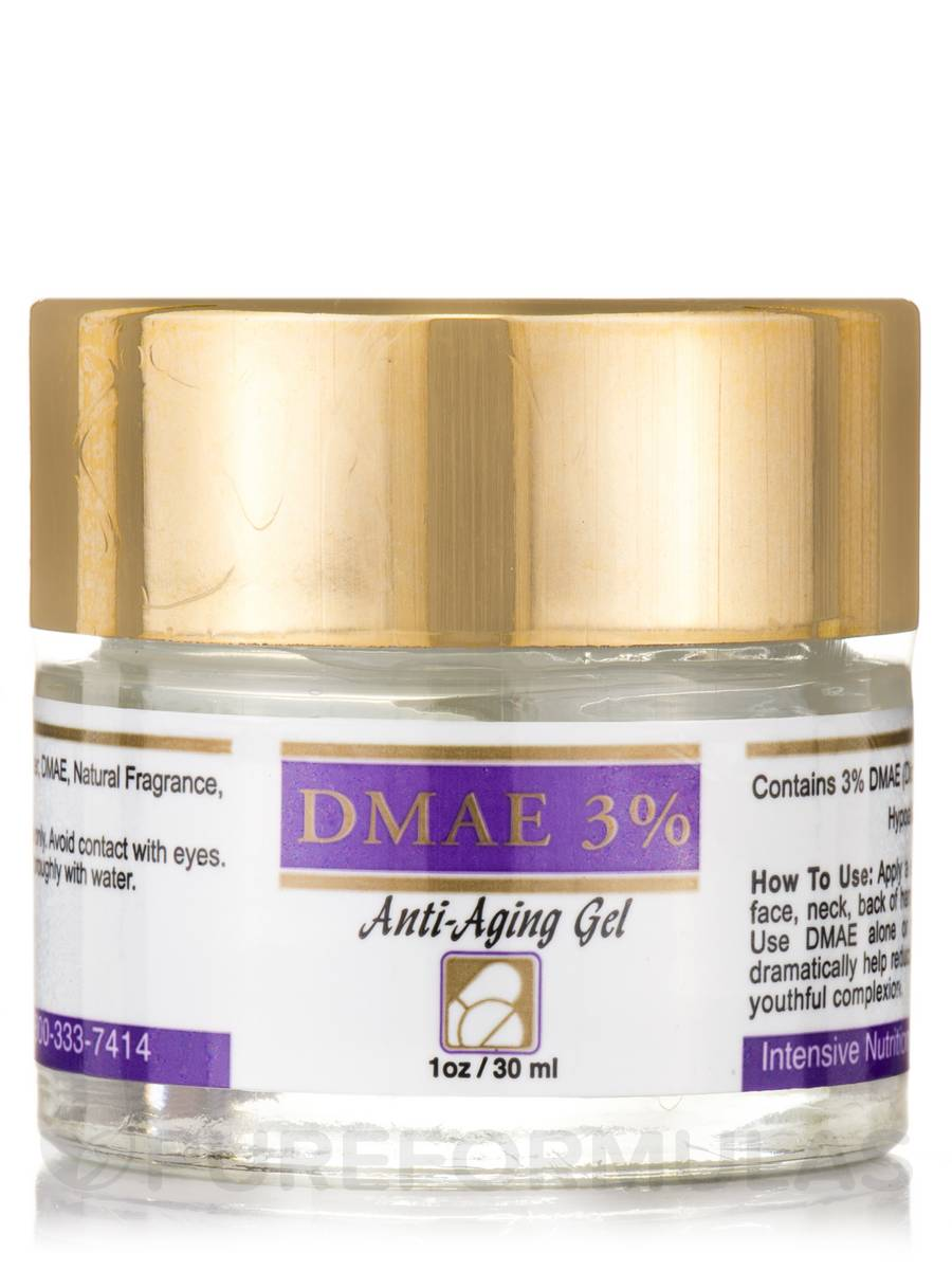 DMAE 3% Anti-Aging Gel - 1 oz (30 ml)