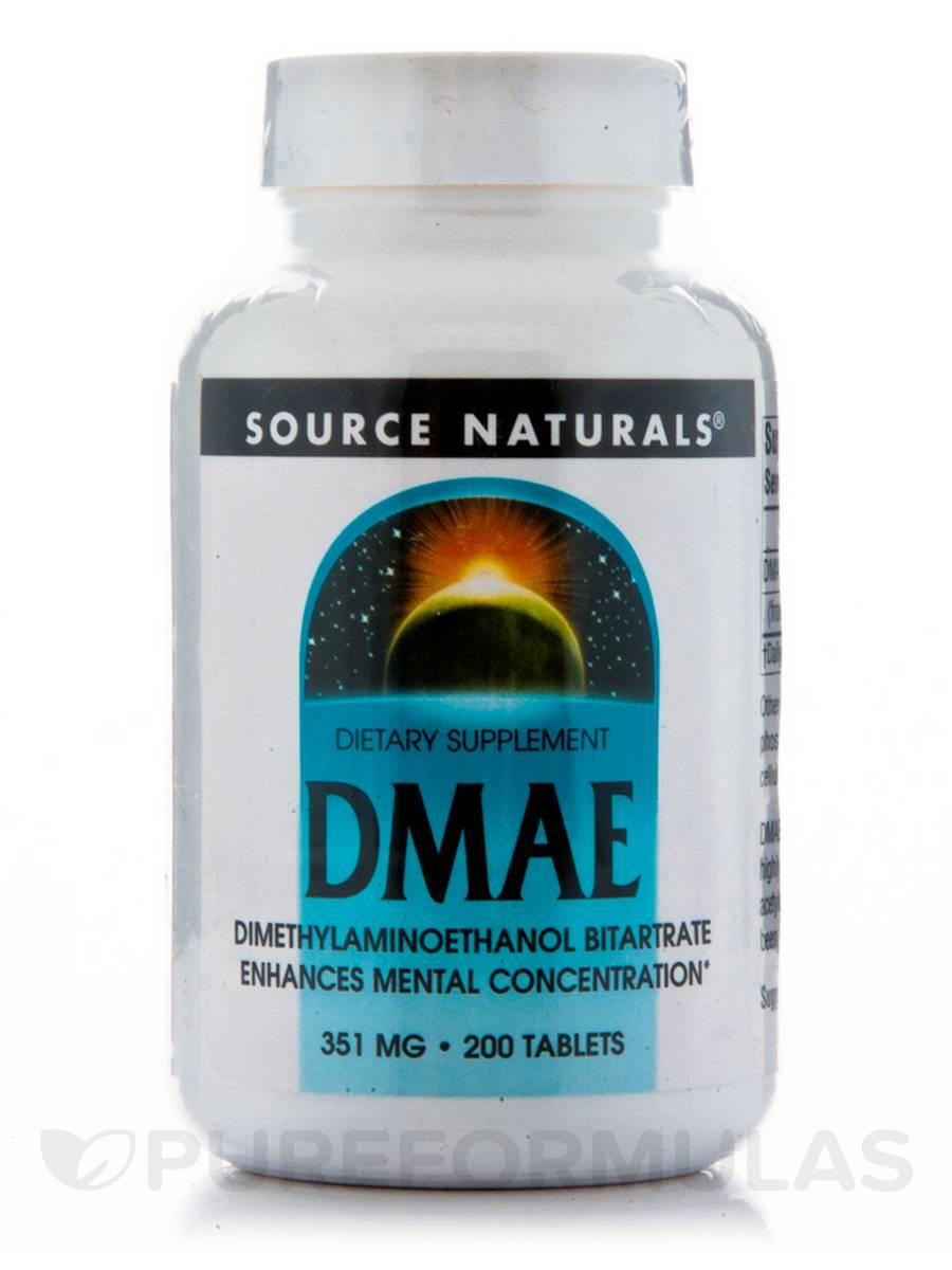 DMAE Tabs 351 mg - 200 Tablets