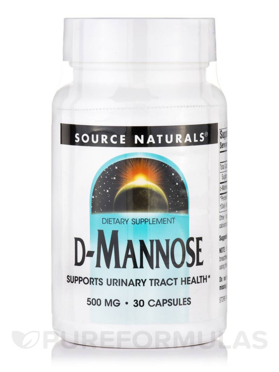 D-Mannose 500 mg - 30 Capsules