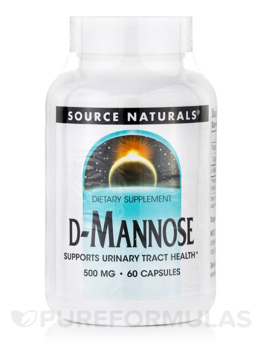 D-Mannose 500 mg - 60 Capsules