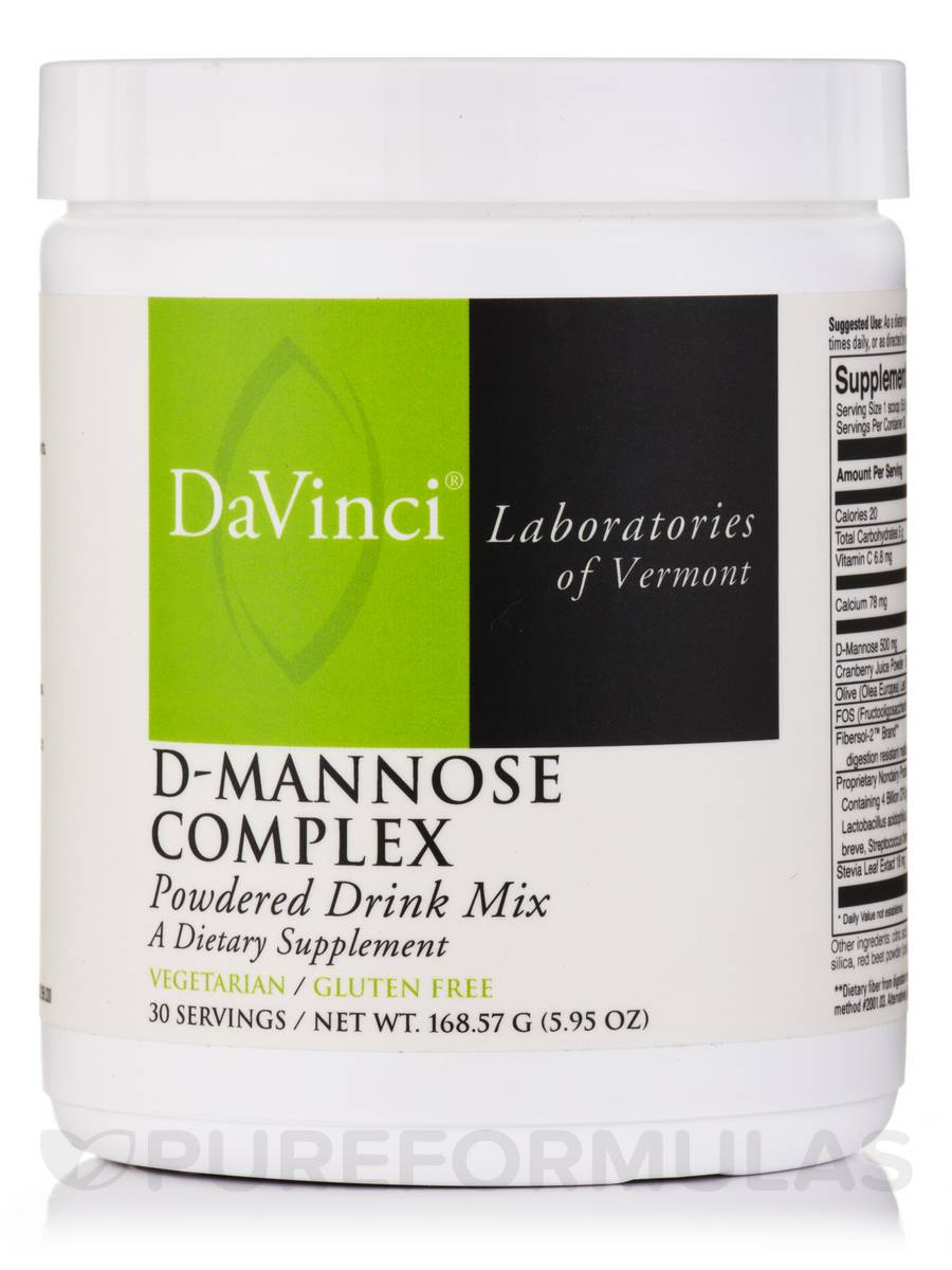 D-Mannose Complex - 30 Servings (5.95 oz / 168.57 Grams)