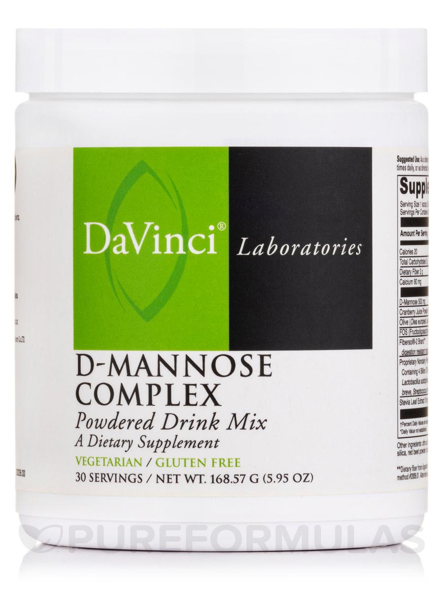 D-Mannose Complex - 30 Servings (5.95 oz / 168.57 Grams)