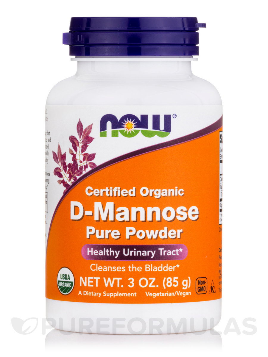 D-Mannose Pure Powder - 3 oz (85 Grams)
