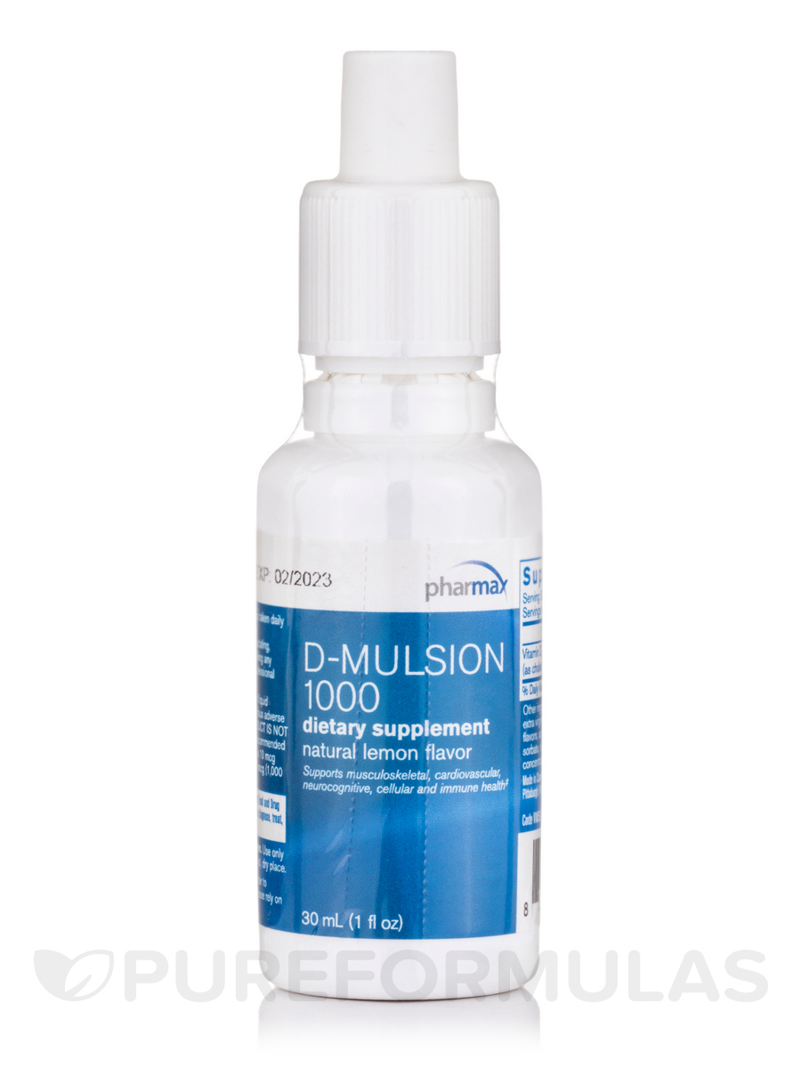 D-Mulsion Citrus Flavor - 1 fl. oz (30 ml)