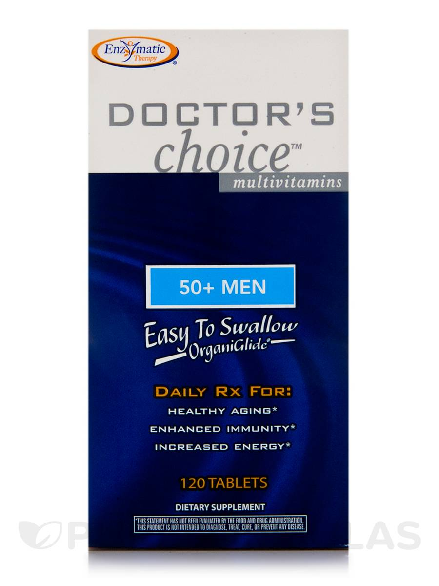 Doctor's Choice 50+ Men - 120 Tablets