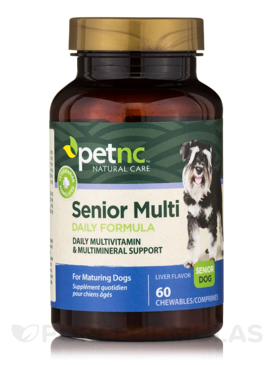 Dog Senior Multivitamin - 60 Chewables