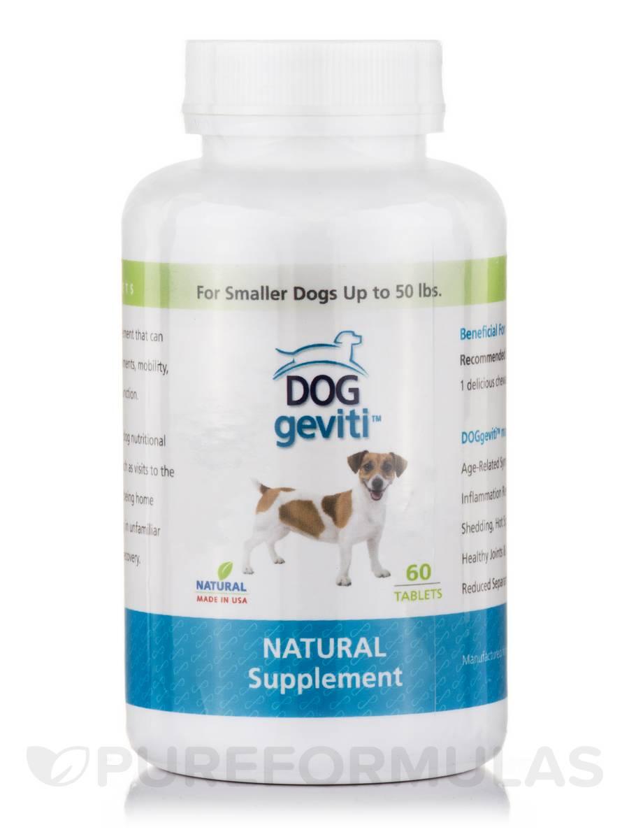 DogGeviti Small Dog Under 50 lbs - 60 Tablets