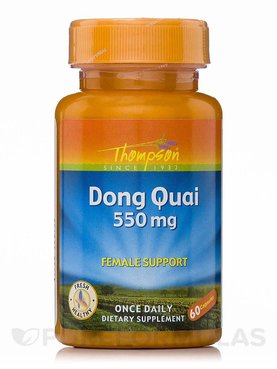 Dong Quai 550 mg - 60 Capsules