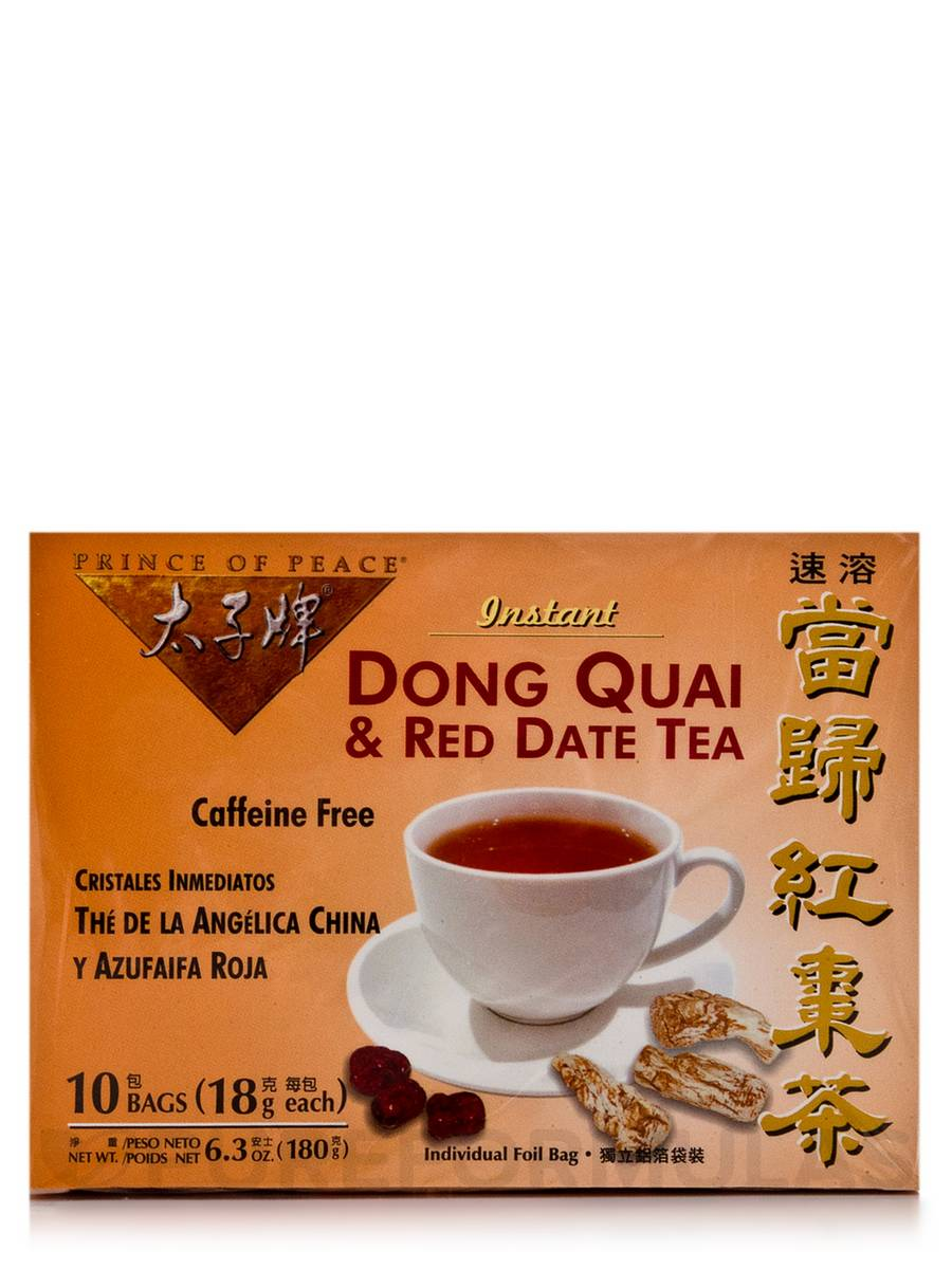 Dong Quai & Red Date Tea - Box of 10 Bags