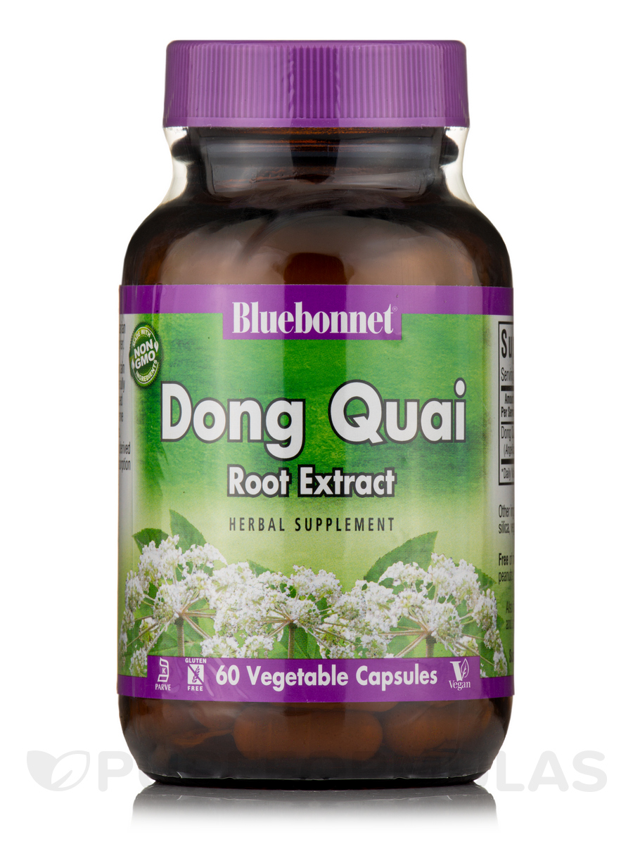 Dong Quai Root Extract - 60 Vegetable Capsules