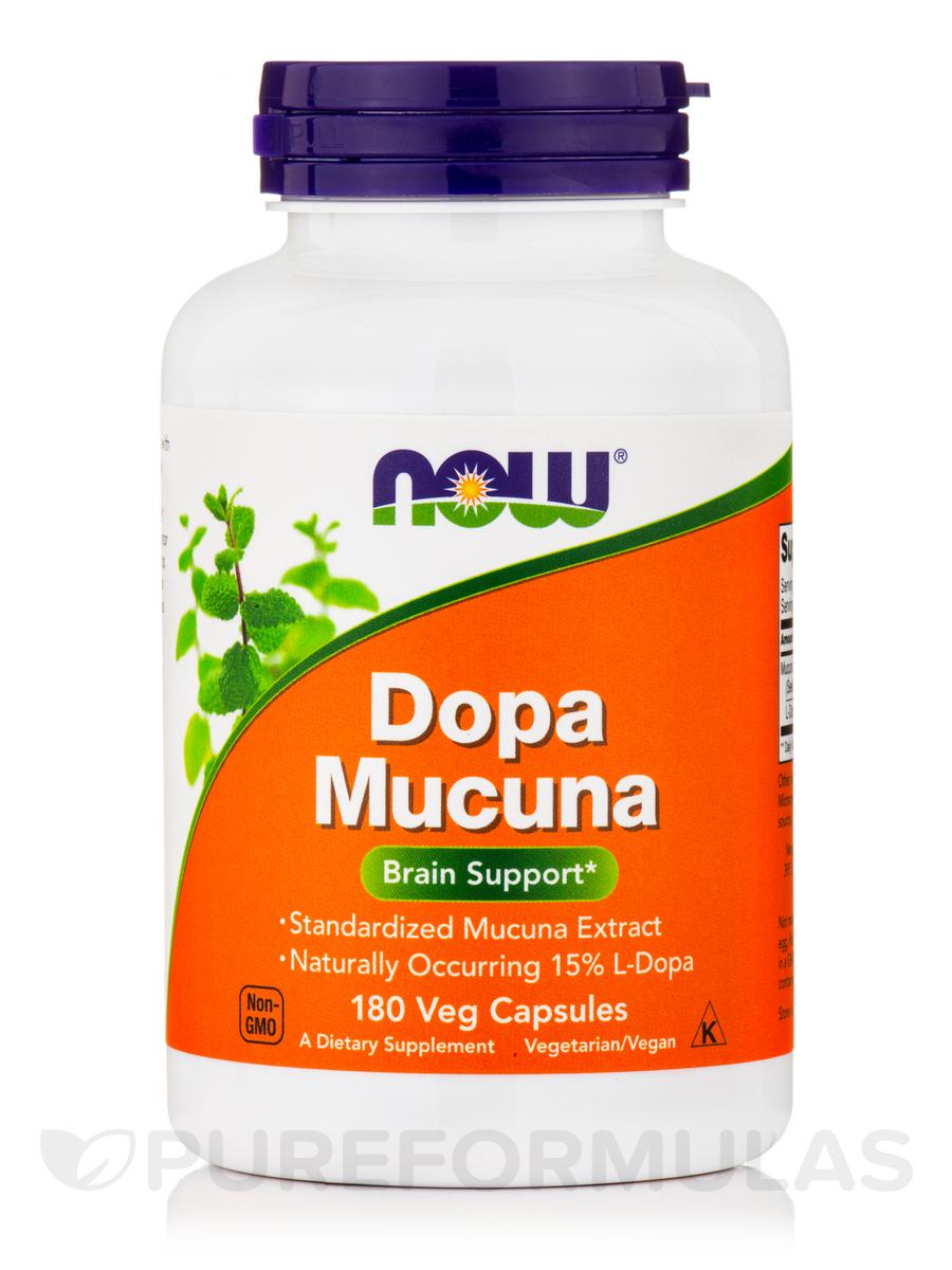 Dopa Mucuna - 180 Veg Capsules