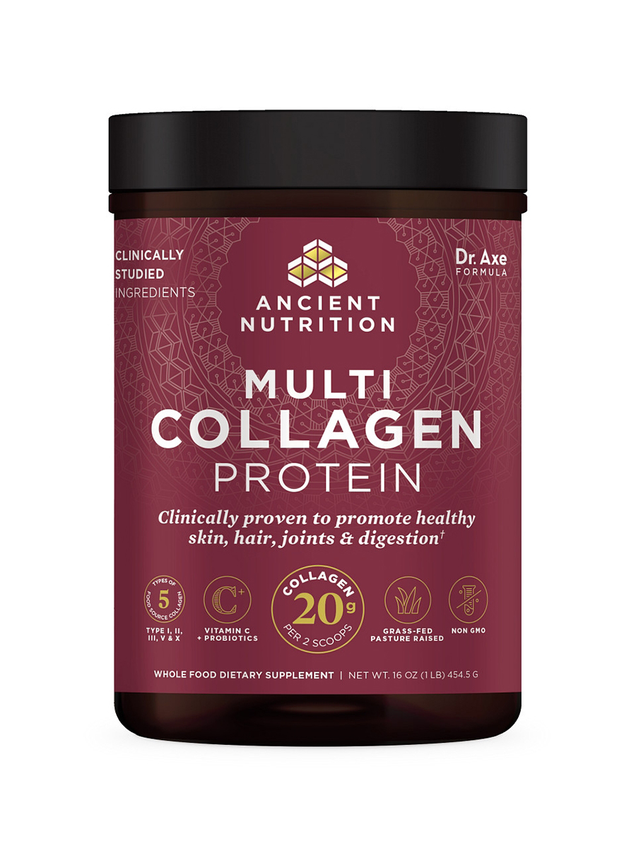 Dr. Axe Multi Collagen Protein - 1 Lb (454 Grams)