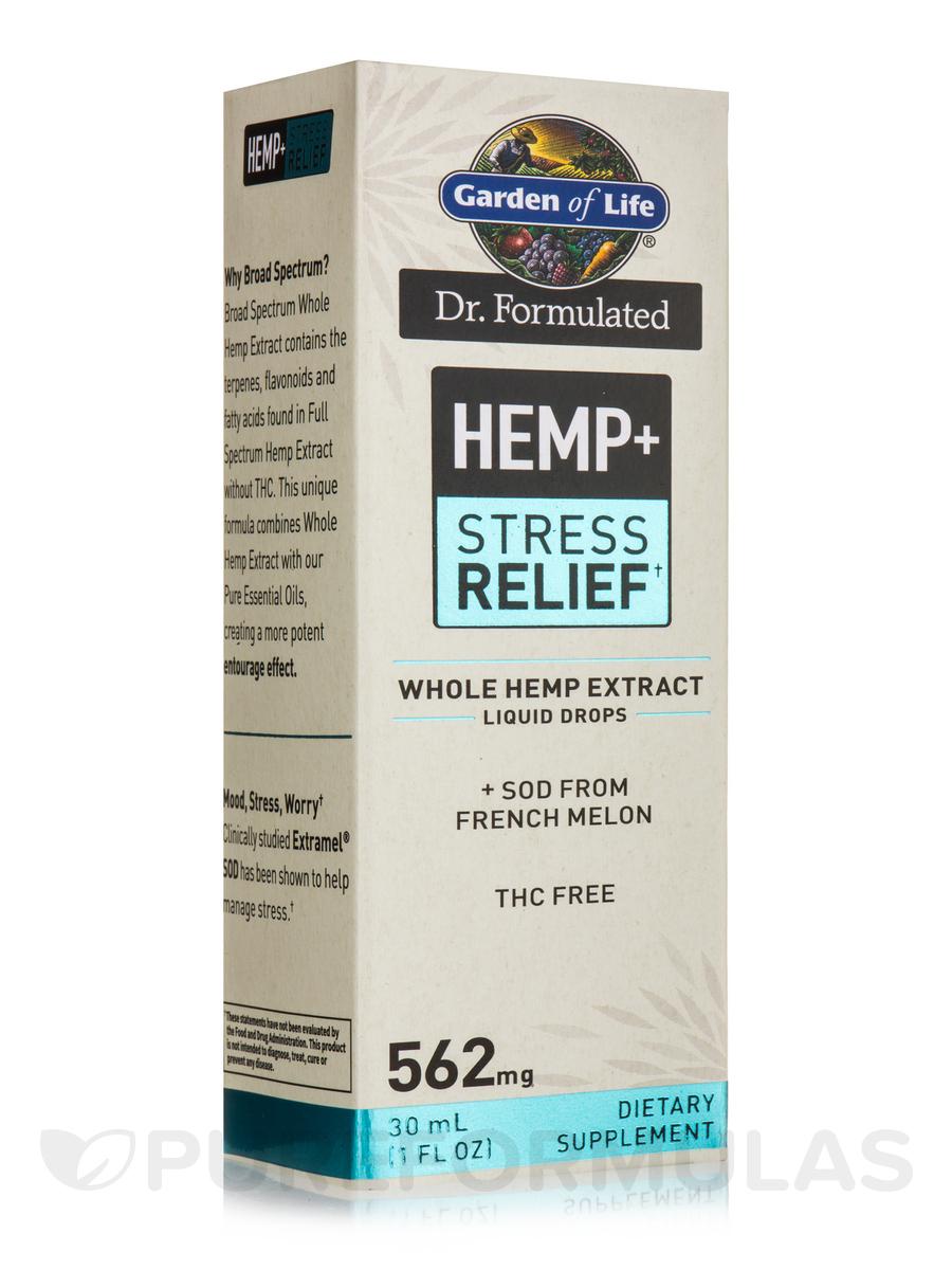 Dr. Formulated Hemp+ Stress Relief 562 mg Drops - 1 fl. oz (30 ml)