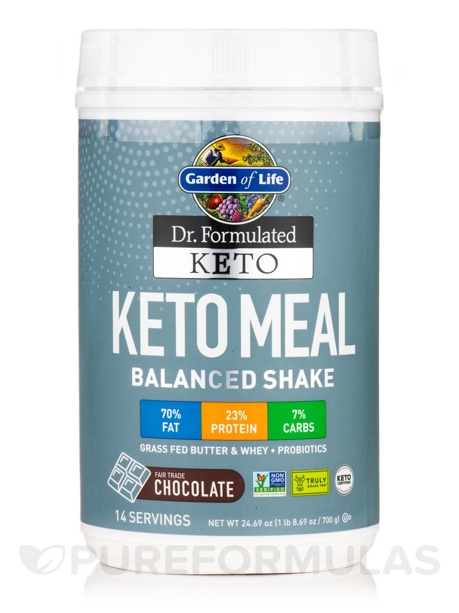 Dr. Formulated Keto Meal Chocolate Powder - 24.69 oz (1 lb 8.69 oz / 700 Grams)
