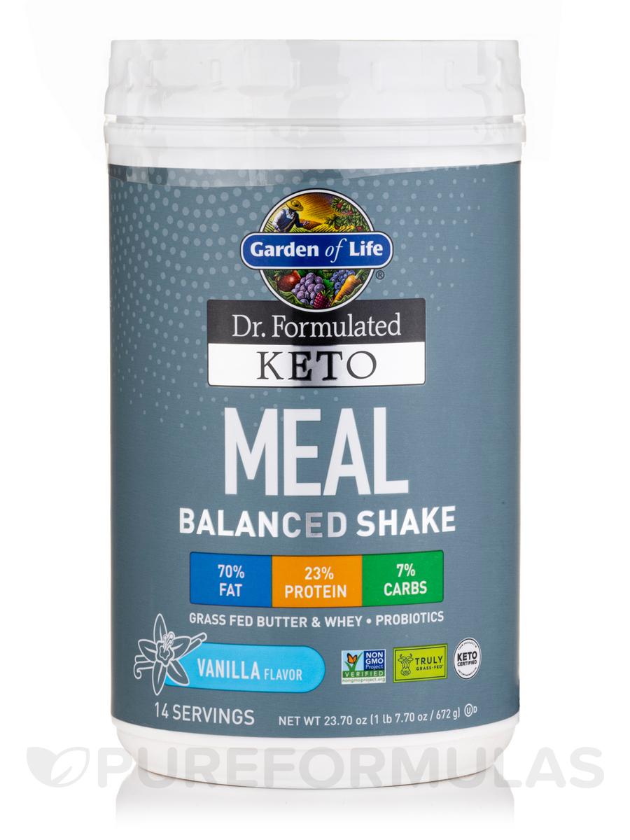 Dr. Formulated Keto Meal Vanilla Powder - 23.70 oz (1 lb 7.70 oz / 672 Grams)
