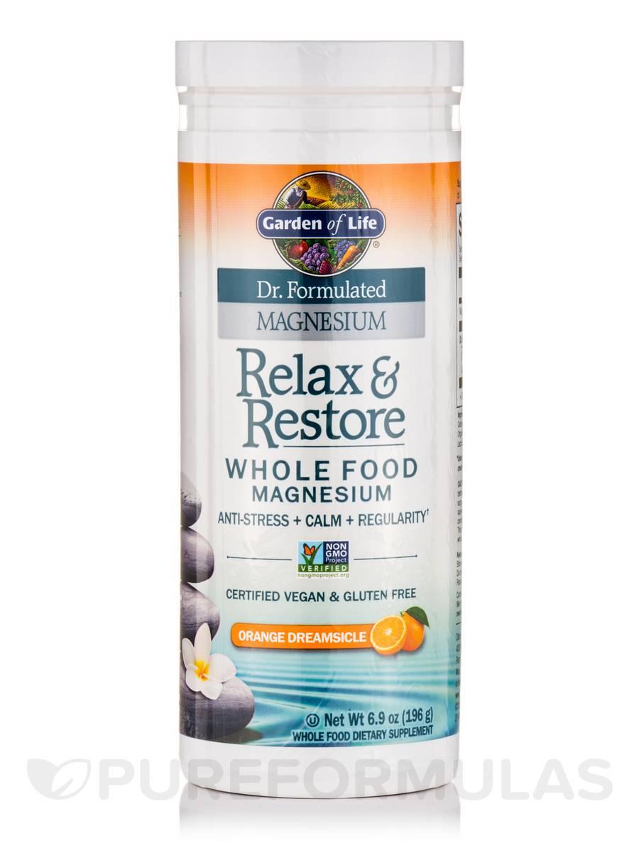 Dr Formulated Magnesium Relax Restore Orange Dreamsicle 6 9 Oz 196 Grams