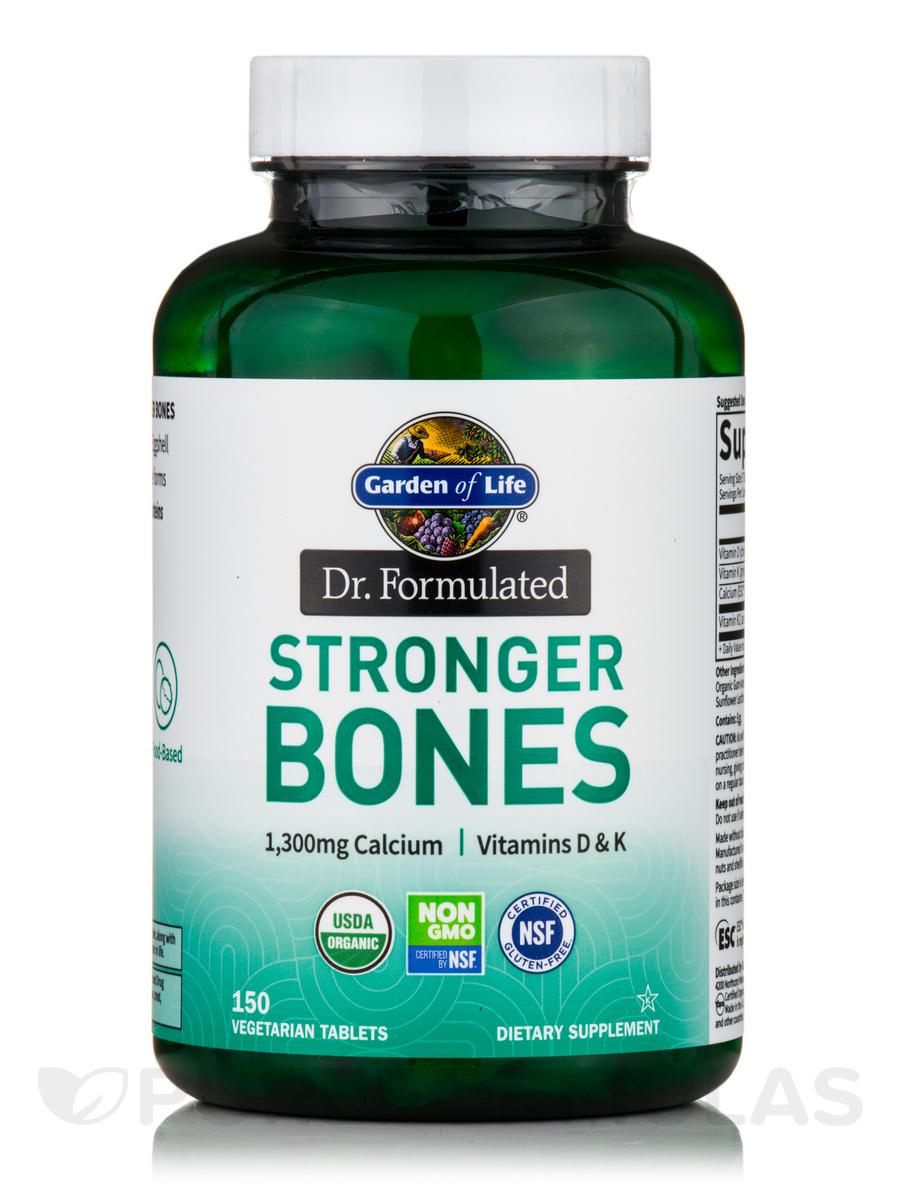 Dr. Formulated Organic Stronger Bones - 150 Tablets