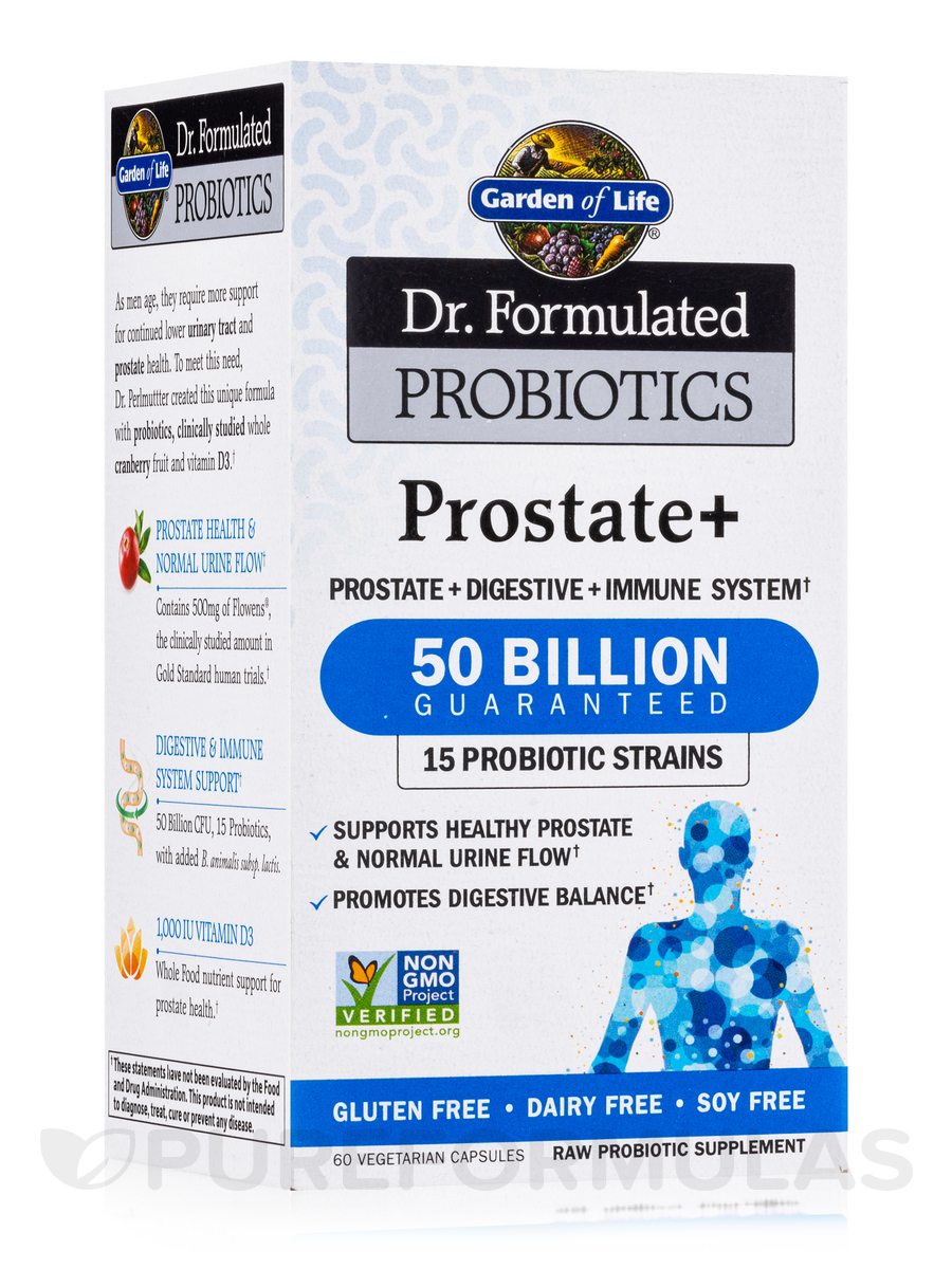 Dr. Formulated Probiotics Prostate+ - 60 Vegetarian Capsules
