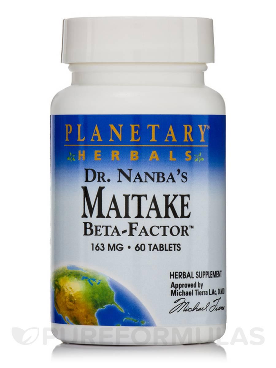 Dr. Nanba's Maitake Beta-Factor 163 mg - 60 Tablets