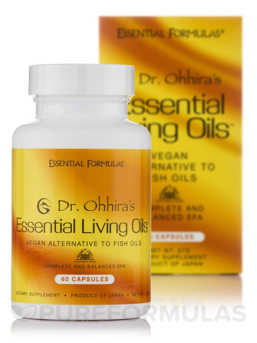 Dr. Ohhira's Essential Living Oils® - 60 Gels
