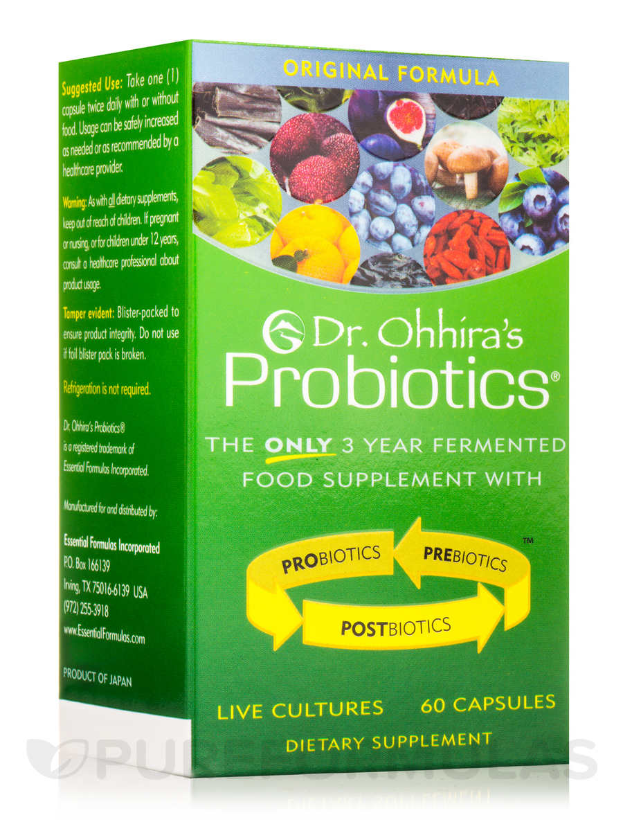 Dr. Ohhira's Probiotics® Original Formula - 60 Capsules
