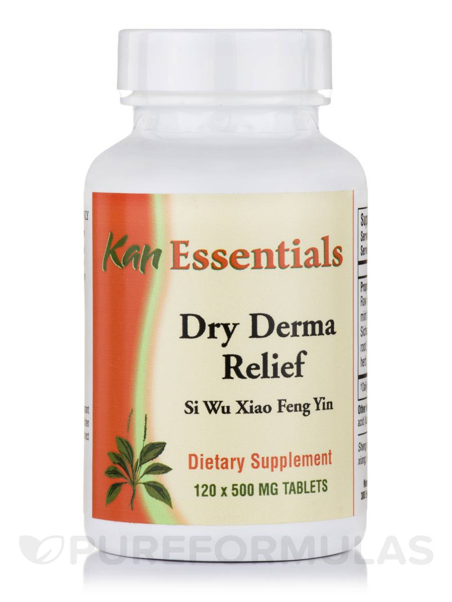 Dry Derma Relief - 120 Tablets