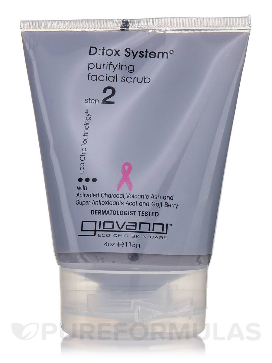 D:tox System Purifying Facial Scrub (Step2) - 4 oz (113 Grams)