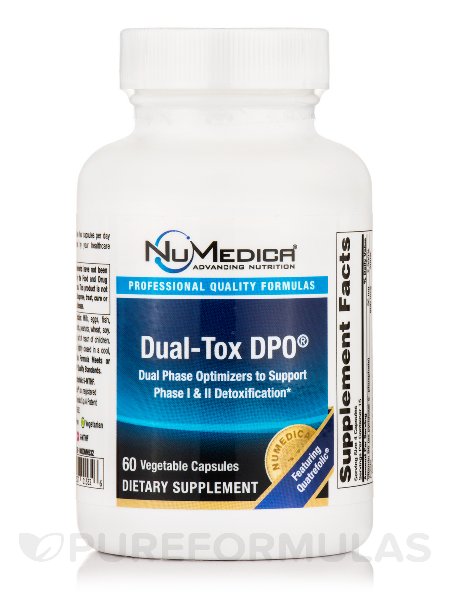Dual-Tox DPO® - 60 Vegetable Capsules