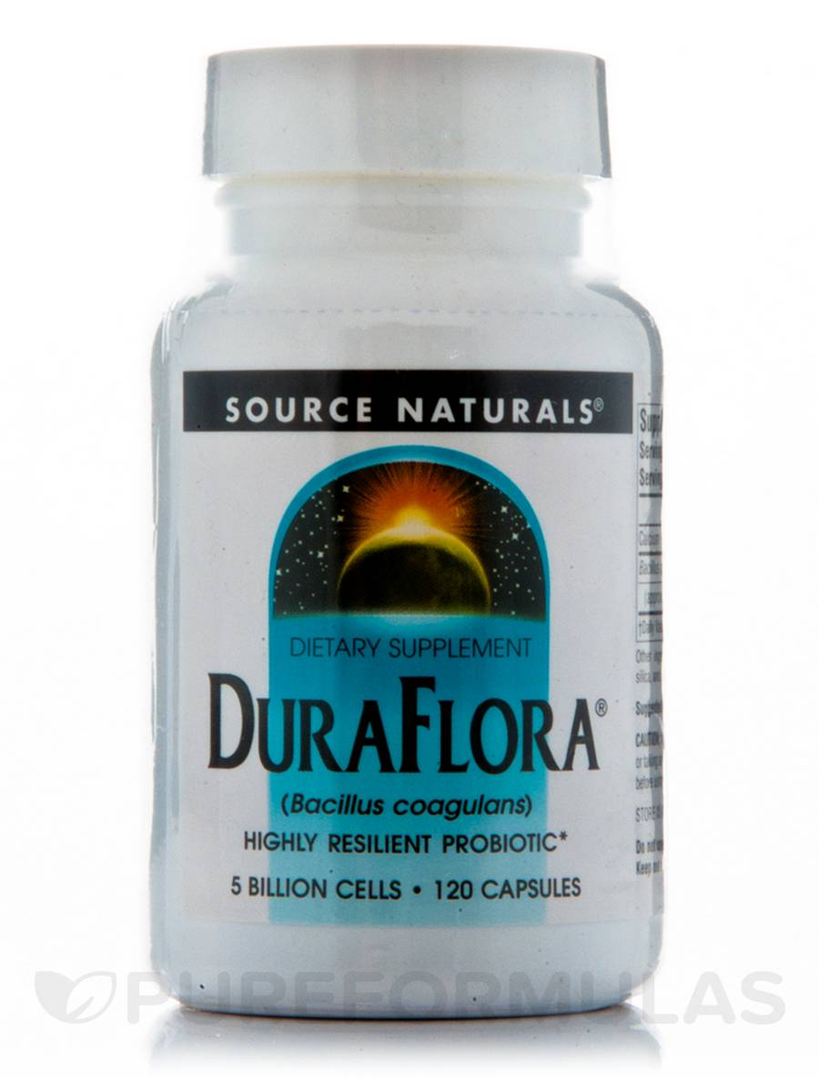 Dura Flora 5 Billion Cells - 120 Capsules