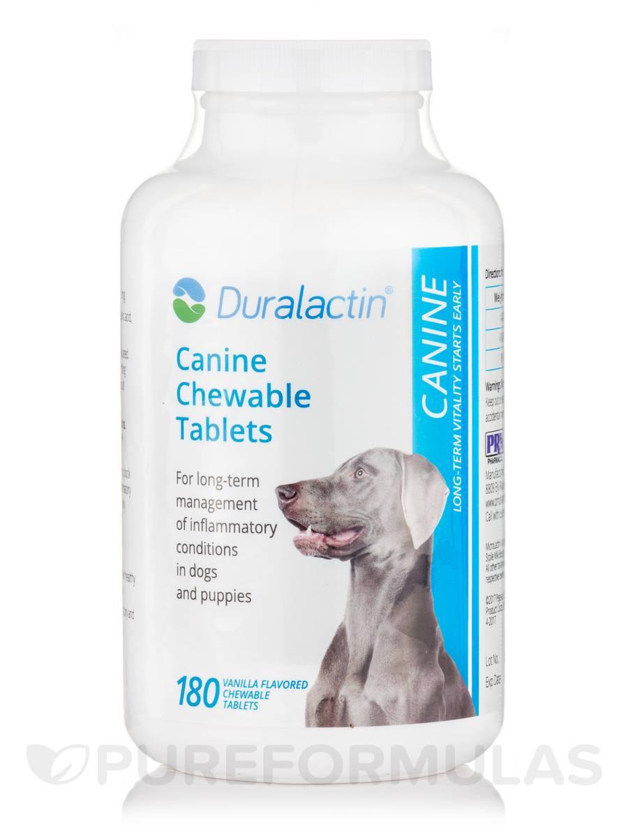 Duralactin® Canine (Vanilla Flavor) - 180 Chewable Tablets