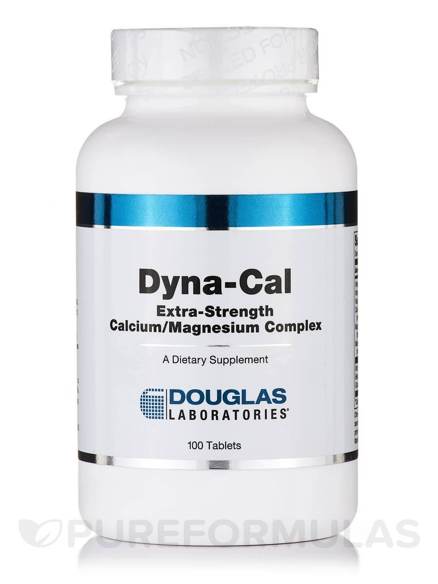 Dyna-Cal (Extra-Strength Calcium/Magnesium Complex) - 100 Tablets